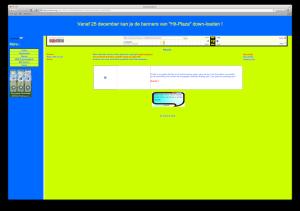 Screenshot Erwinswebsite
