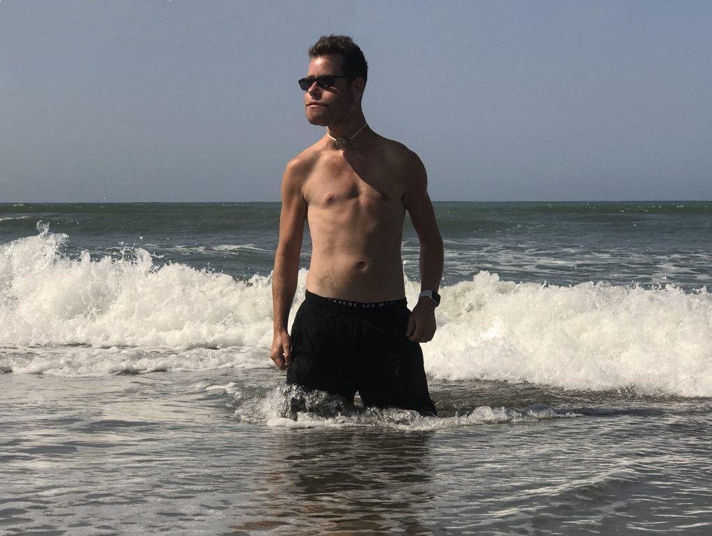 Het strand in Viareggio