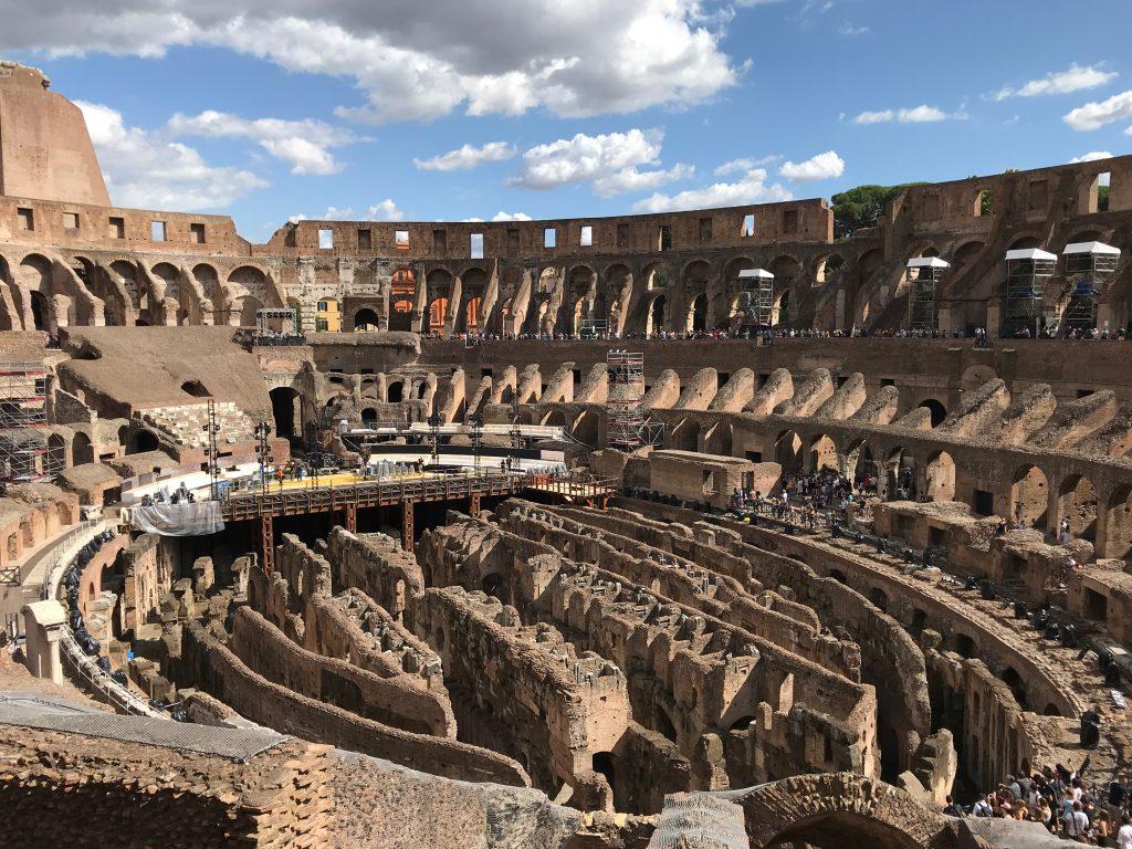 Colosseum binnenkant